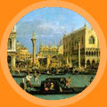 Venice painting by Canaletto